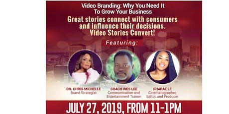 Use Video to Brand. Market. Convert! tickets