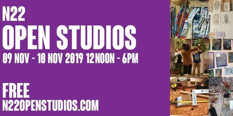 N22 Open Studios 2019 - 9/10 November 2019 tickets