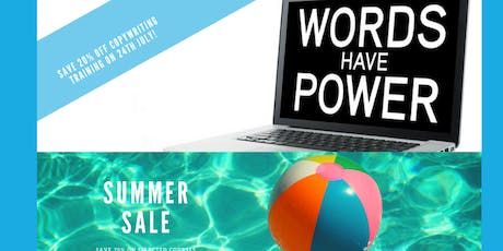 Copywriting Training Course - Manchester - Summer Sale - save 20%! tickets