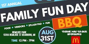 Free Family Fun Day BBQ presented by The Ultimate Ladie...