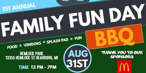 Free Family Fun Day BBQ presented by The Ultimate Ladies Night