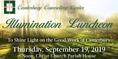 Canterbury Counseling Center Illumination Luncheon tickets