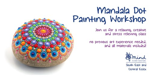 Mandala dot painting workshop with SECE Mind - Saturday morning class