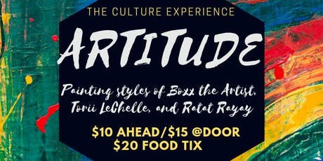 ARTITUDE- The Culture Series tickets