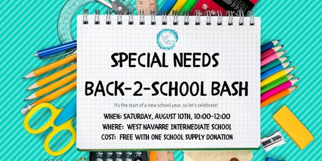 Special Needs Back-2-School Bash tickets