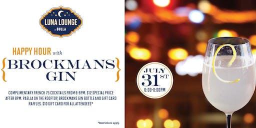 Brockmans Gin Happy Hour at Luna Lounge!