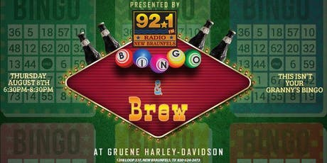 Bingo & Brew tickets