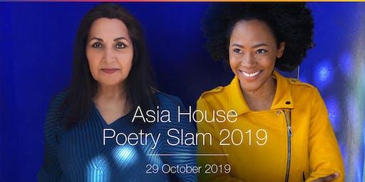 Asia House Poetry Slam 2019
