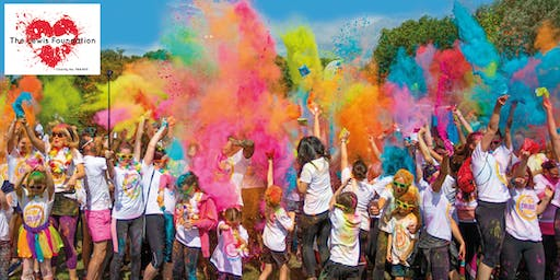 Northampton Fun Colour Rush 2019