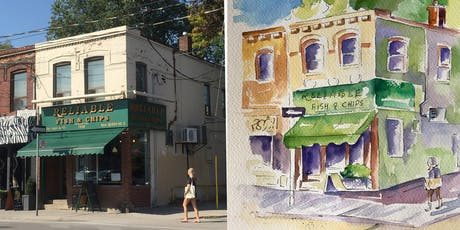Sketching with Watercolour: Art Workshop Toronto tickets