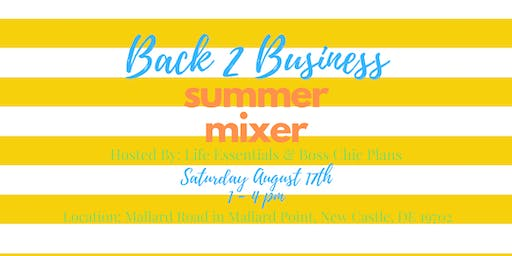 Back to Business Summer Mixer