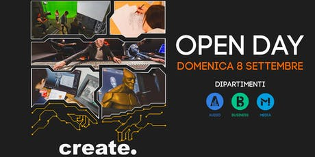 Open Day corsi Audio e Music Business billets