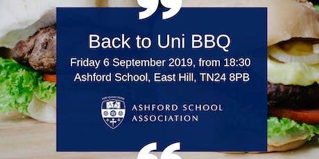 Back to Uni BBQ tickets