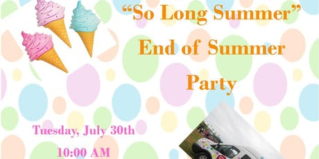 So Long Summer End of Summer Party tickets