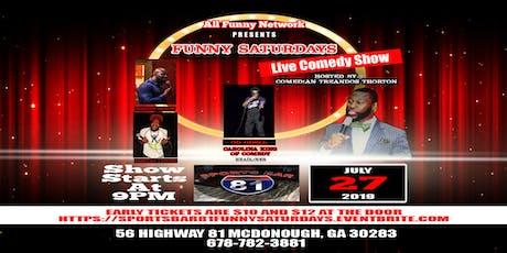 Comedy Show (Sports Bar 81 Mcdonough) tickets