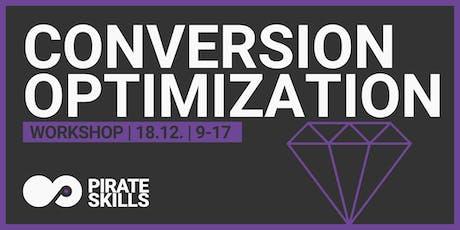 Conversion Optimization | Workshop tickets
