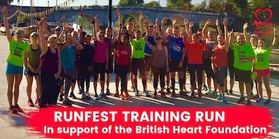 RUNFEST Training Run in support of BHF