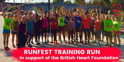 RUNFEST Training Run in support of BHF