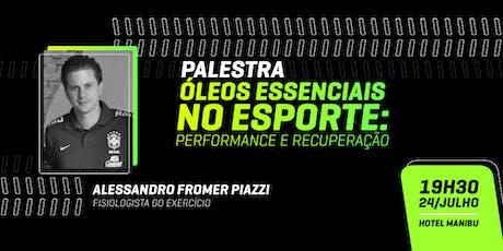 Óleos Essenciais no Esporte: Performance e Recuperação ingressos