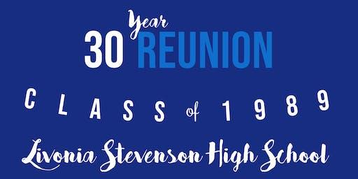 Livonia Stevenson '89 - 30 Year Reunion