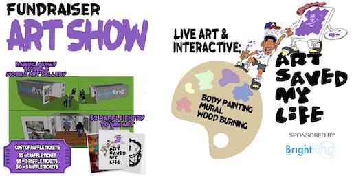 Art Saved My Life Pop-Up Art Event