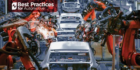 Best Practices for Automotive, Oct. 7-8 tickets