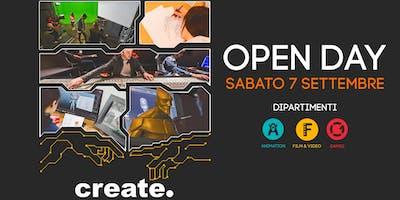 Open Day corsi Video, Games e Animation