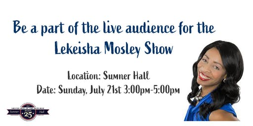 Lekeisha Mosley Live Television Show