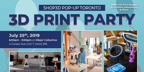 3D Printing Party - Shop3D x Ildsjel Collective tickets