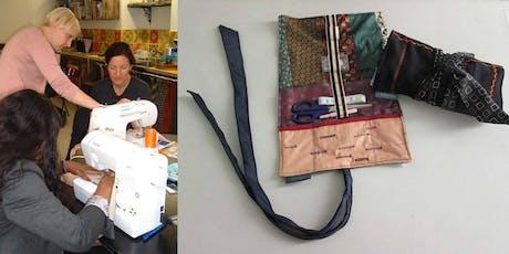 "Beginners Sewing 2 (zips, buttonholes, bindings & create a ""utility roll"") tickets"