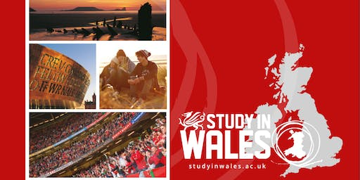 Study in Wales Info Night - Academics, Admissions, and Affordability.