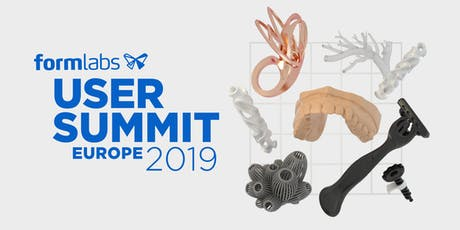 Formlabs User Summit Europe 2019 Tickets