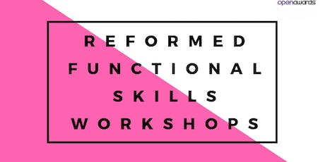 Reformed Functional Skills Workshop - English (Entry 1 – Level 2) tickets