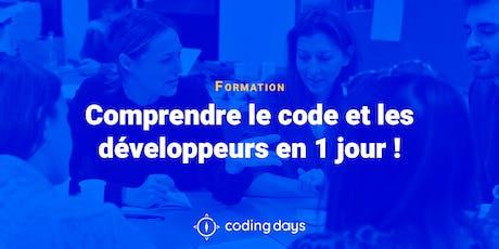 [CODING DAY] Comprendre le code et les développeurs en 1 jour ! - Paris billets