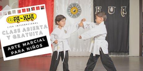 Arte Marcial Pa-Kua para niños - CLASE GRATUITA entradas