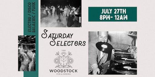Saturday Selectors w/ Stefanie Chew