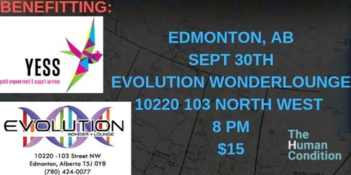 The Human Condition Comedy Tour - Edmonton, AB