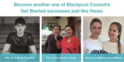 Business Start-up Drop-in Advice Sessions Every Thursday- Get Started - check for available dates
