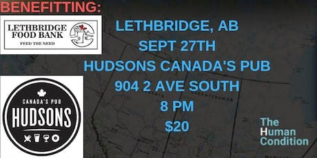 The Human Condition Comedy Tour - Lethbridge, AB tickets