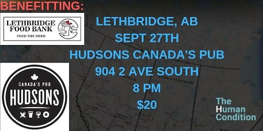 The Human Condition Comedy Tour - Lethbridge, AB