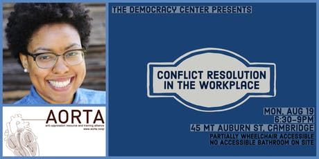 Conflict Resolution in the Workplace tickets