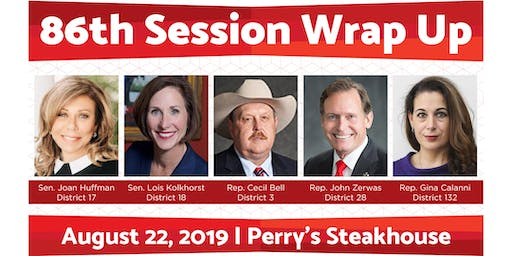 Katy Chamber Luncheon: 86th Session Wrap Up