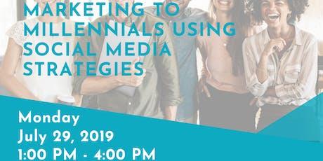 3 HR CE 'Marketing to Millennials using Social Media Strategies' with Shantha Wetterhan  tickets