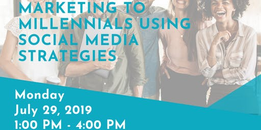 3 HR CE 'Marketing to Millennials using Social Media Strategies' with Shantha Wetterhan