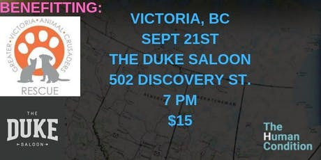 The Human Condition Comedy Tour - Victoria, BC tickets