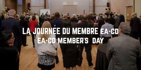 EA-CD Member's Day/La journée du membre EA-CD  tickets