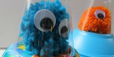 Pom-Pom Aliens - Wellington Library