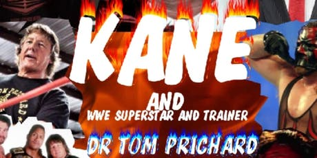 ACW  presents WWE superstar KANE live in Hannibal Mo. tickets