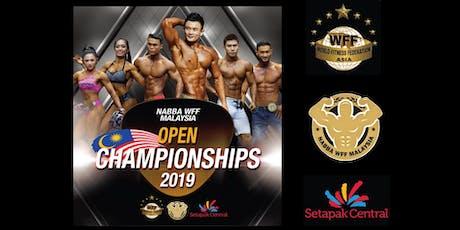 NABBA WFF MALAYSIA OPEN CHAMPIONSHIPS 2019 tickets