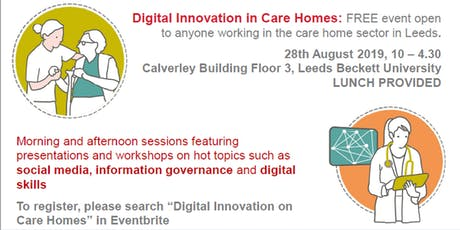 Digital Innovation in Care Homes tickets